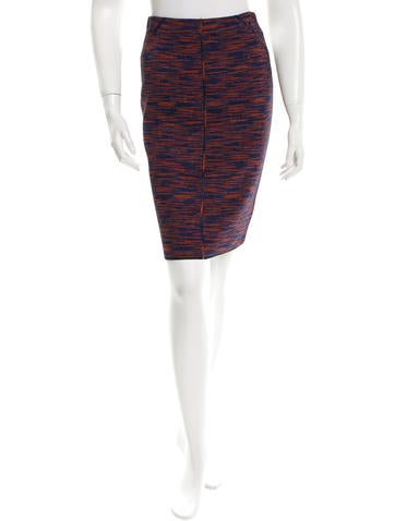 M Missoni Knit Pencil Skirt w/ Tags None