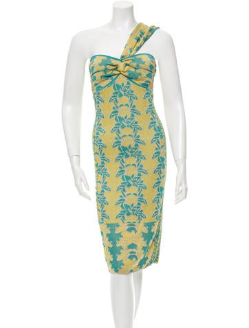 M Missoni Patterned Midi Dress w/ Tags None