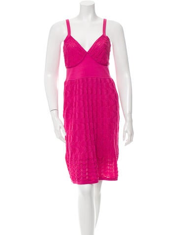 M Missoni Sleeveless Knit Dress w/ Tags None