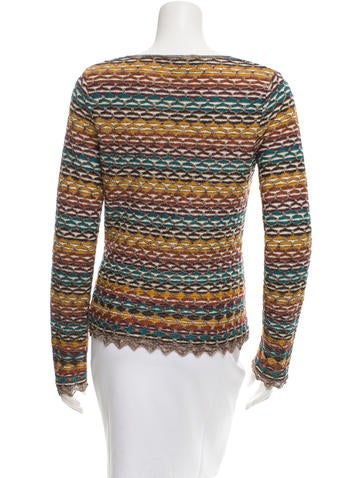 Long Sleeve Patterned Top