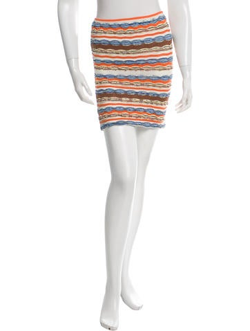M Missoni Knit Tube Top None