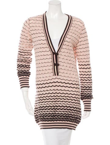 M Missoni Wool Patterned Sweater None