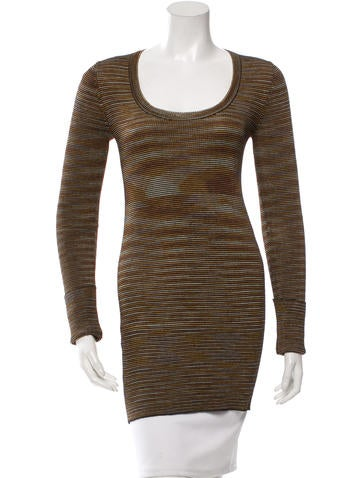 M Missoni Patterned Long Sleeve Tunic None