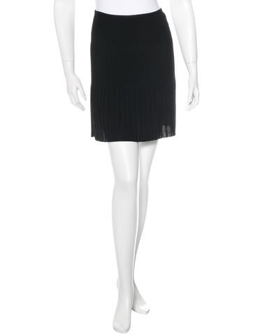 M Missoni Rib Knit A-Line Skirt None