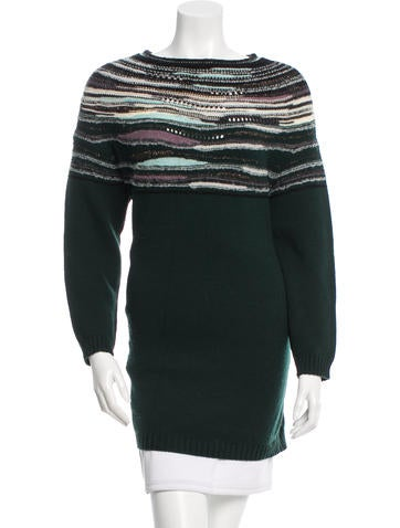 M Missoni Wool Knit Sweater None