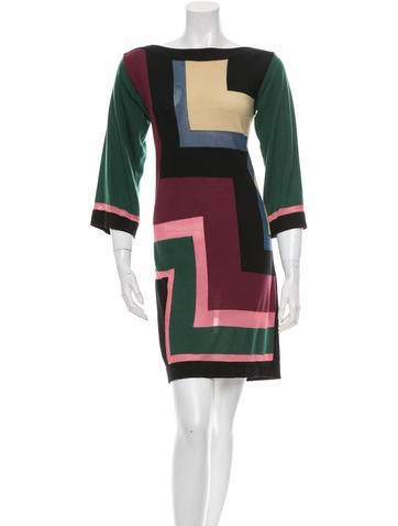 M Missoni Wool Sweater Dress None