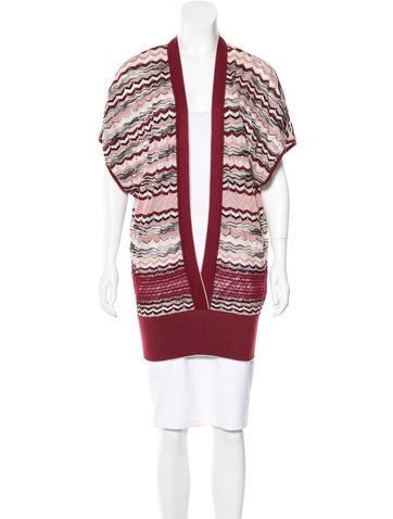M Missoni Wool Striped Top None