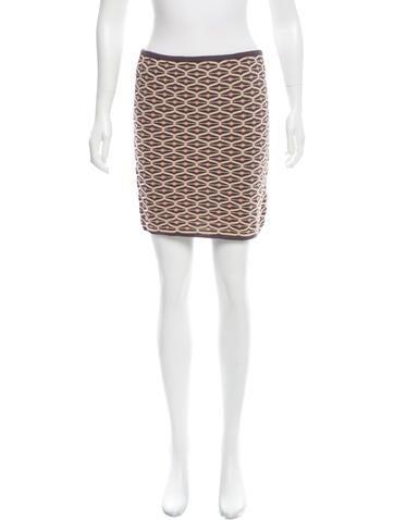 M Missoni Patterned Mini Skirt w/ Tags None