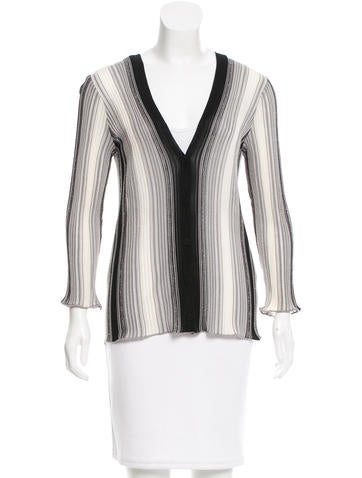 M Missoni Long Sleeve Knit Cardigan None