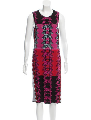 M Missoni Cutout Knit Dress None