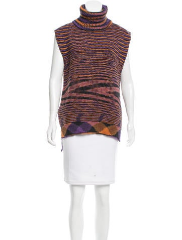 M Missoni Merino Wool Turtleneck Sweater None