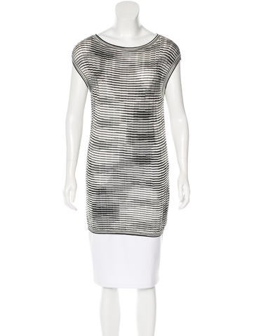 M Missoni Patterned Tunic Top None