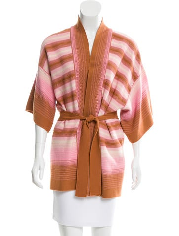 M Missoni Oversize Striped Cardigan None