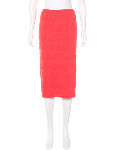 M Missoni Knit Pencil Skirt None