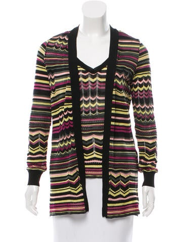 M Missoni Stripe Cardigan Set None