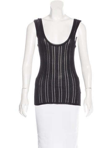 M Missoni Knit Sleeveless Top None