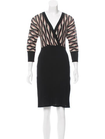 M Missoni Knit Midi Dress None