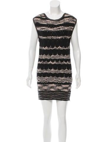 M Missoni Wool Mini Dress None