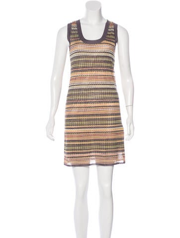 M Missoni Striped Knit Dress w/ Tags None