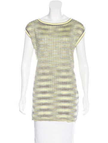 M Missoni Patterned Sleeveless Tunic None