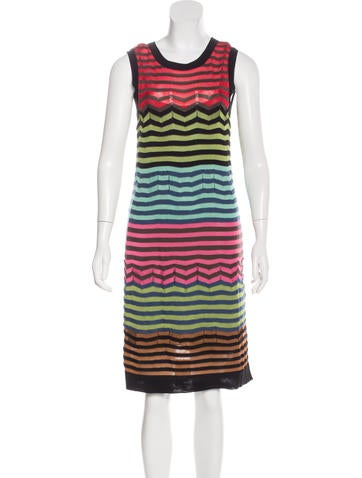 M Missoni Patterned Midi Dress None