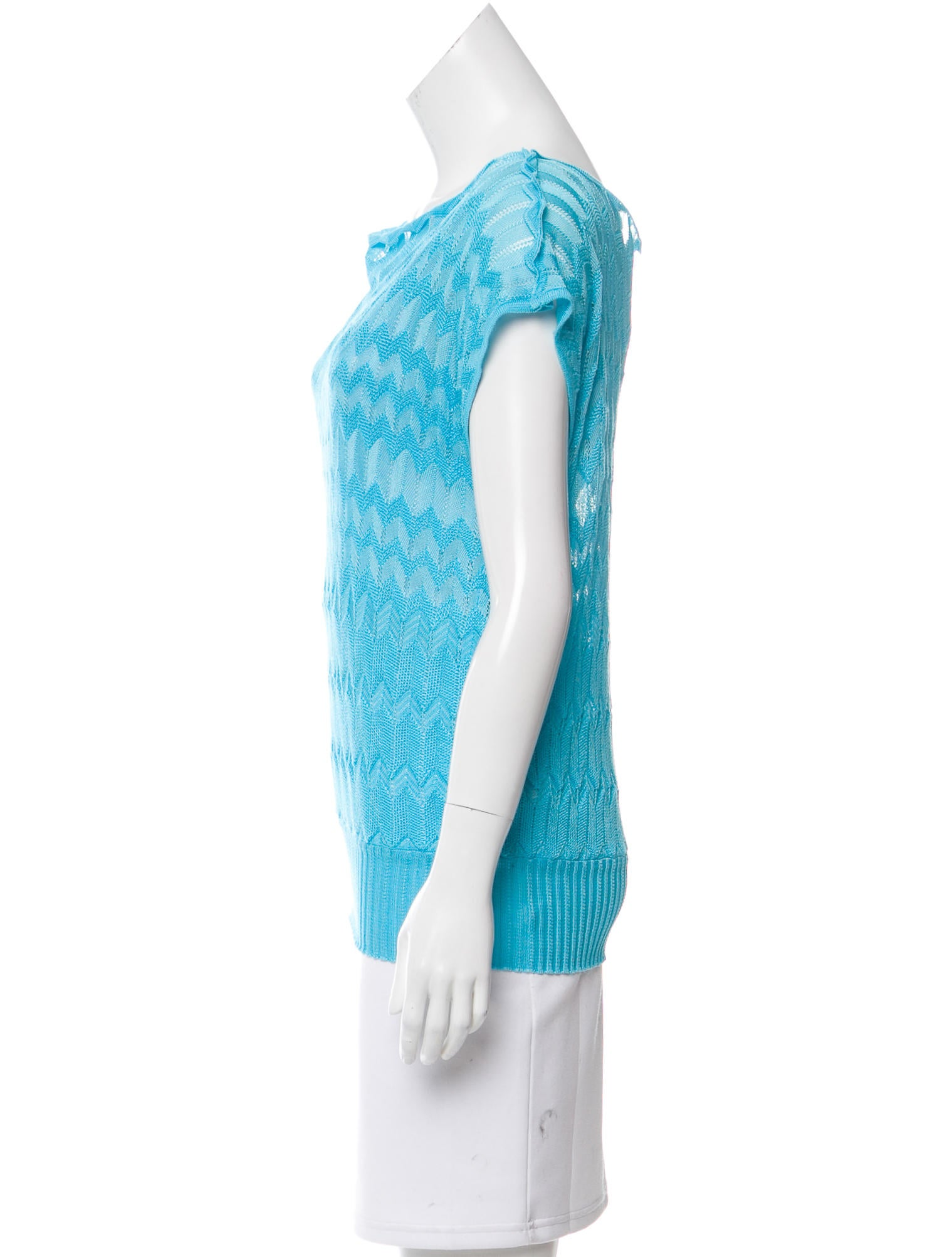 m missoni sleeveless knit top clothing wm437522 the realreal. Black Bedroom Furniture Sets. Home Design Ideas