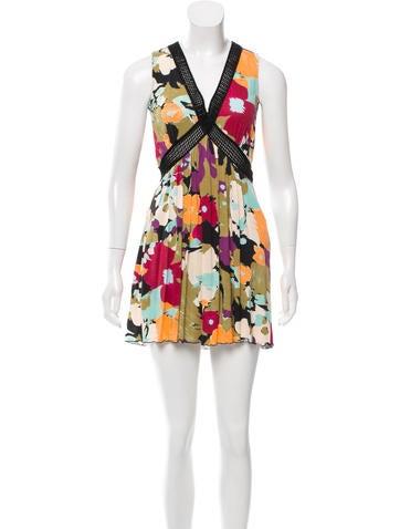 M Missoni Printed Mini Dress None