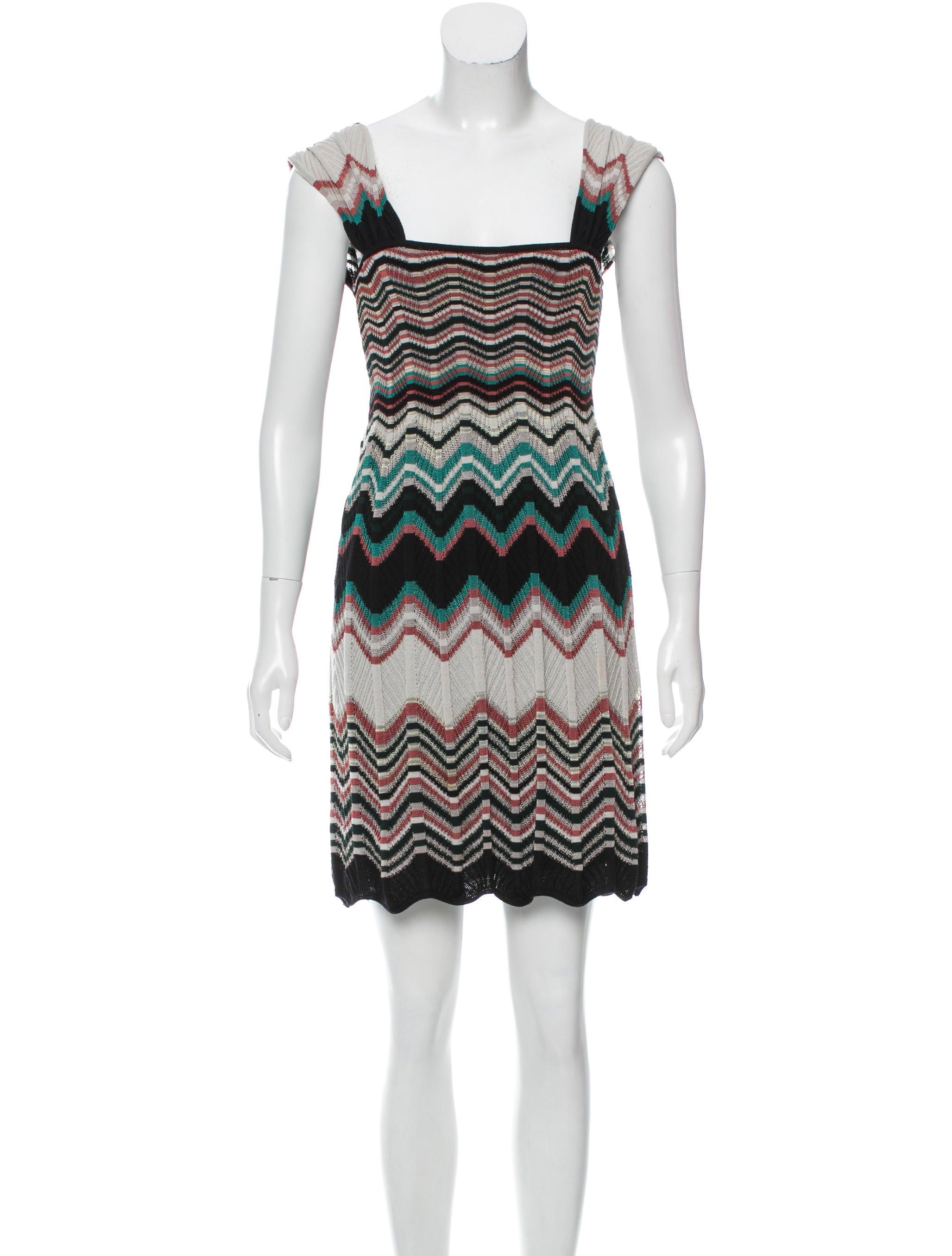 m missoni patterned mini dress clothing wm437998 the realreal. Black Bedroom Furniture Sets. Home Design Ideas
