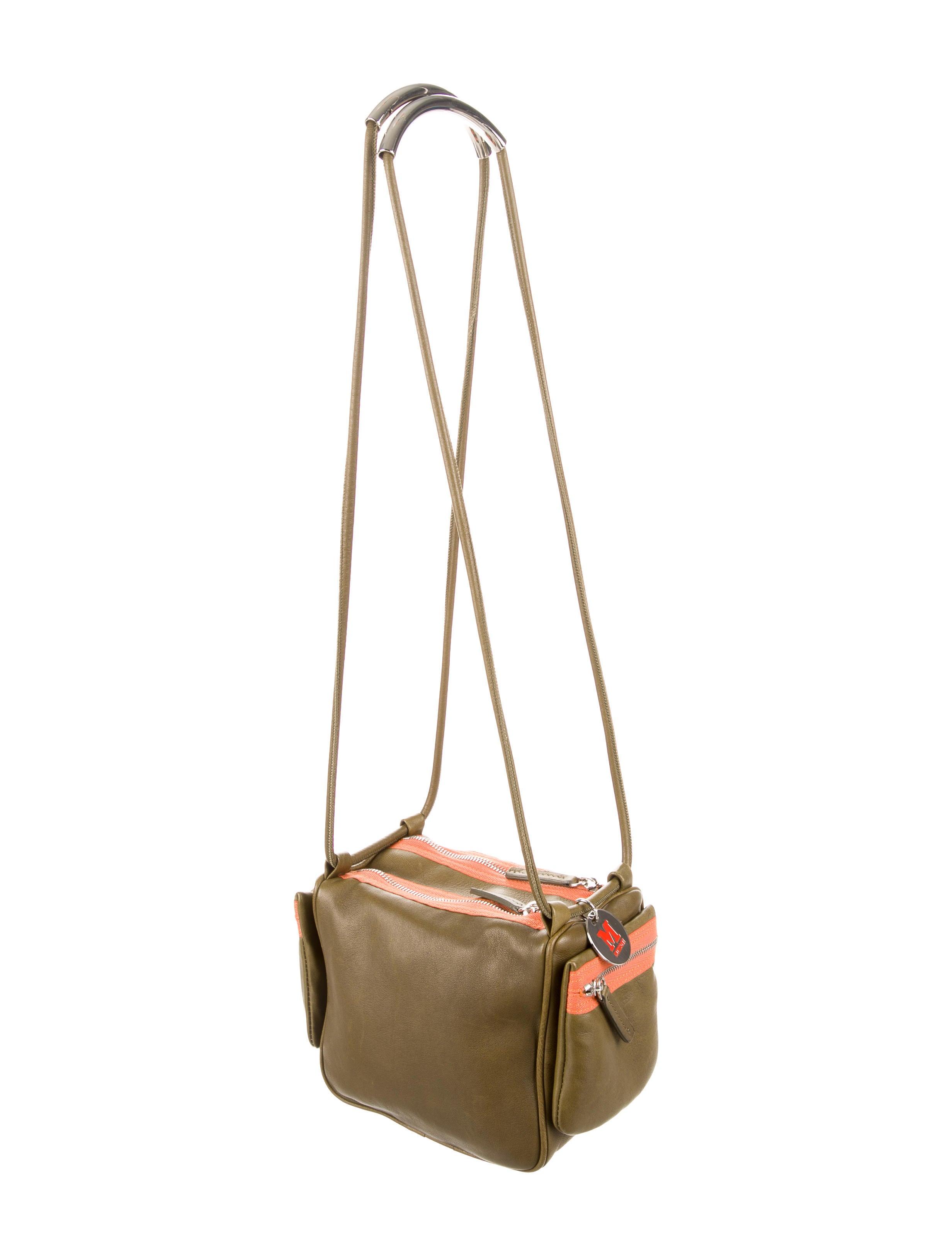 M Missoni Leather Shoulder Bag - Handbags