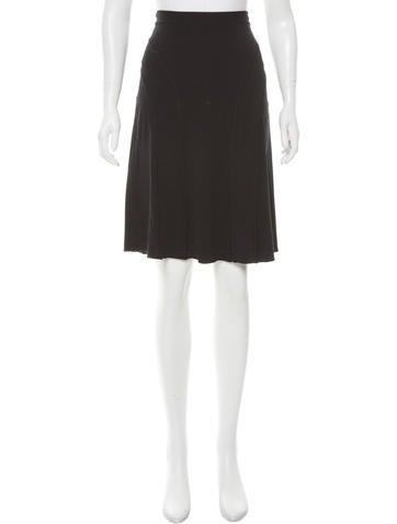 M Missoni A-Line Knee-Length Skirt None