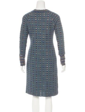 Long Sleeve Knit Dress Pattern : M Missoni Long Sleeve Knit Dress - Clothing - WM438221 The RealReal
