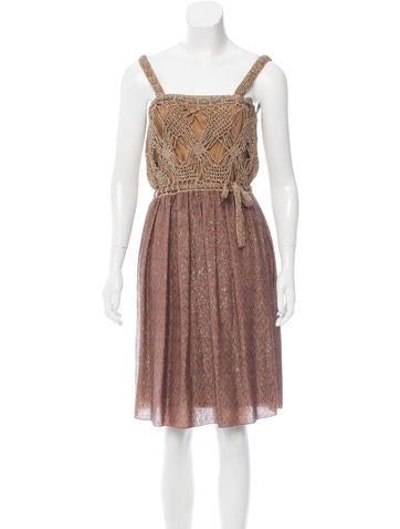 M Missoni Lurex Sequin Dress None