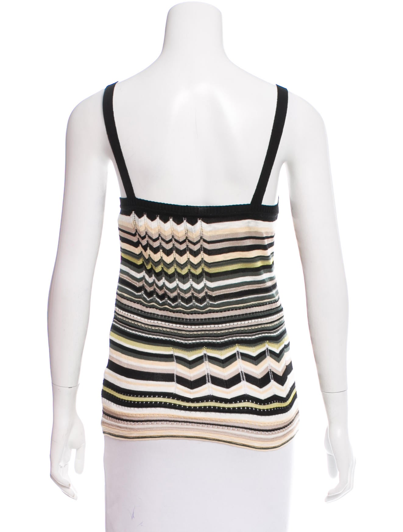 m missoni patterned sleeveless top w tags clothing wm438246 the realreal. Black Bedroom Furniture Sets. Home Design Ideas