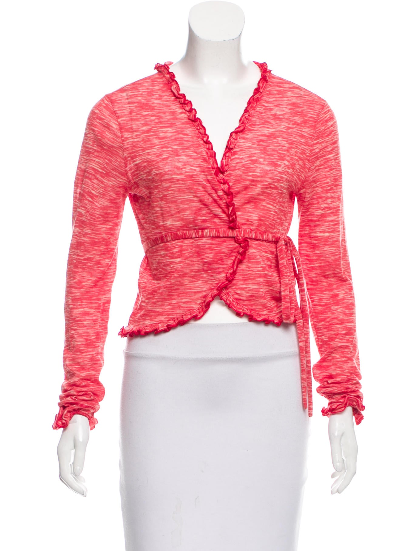 M missoni wool blend cropped top clothing wm439153 for Best wool shirt jackets