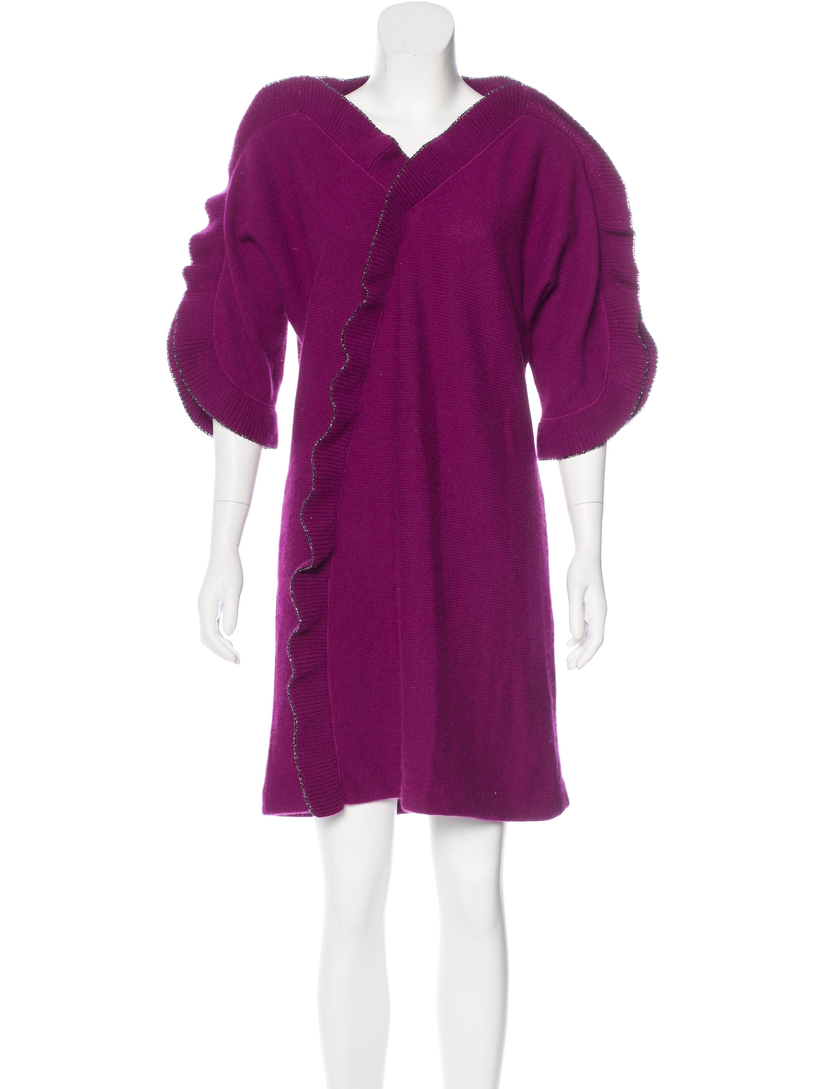 M Missoni Merino Wool Sweater Dress - Clothing - WM439278 | The RealReal