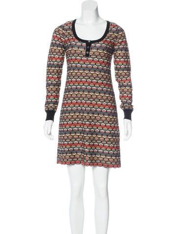 M Missoni Merino Wool Sweater Dress None