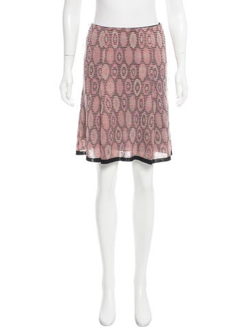 M Missoni Patterned Knee-Length Skirt None