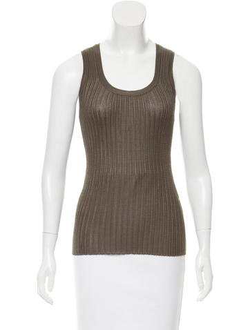 M Missoni Knit Tank Top None