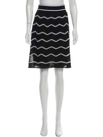 M Missoni Knit Metallic Skirt w/ Tags None