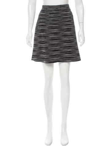 M Missoni Knit A-Line Skirt w/ Tags None