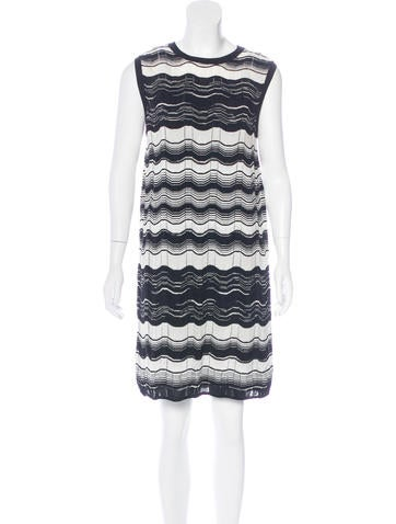 M Missoni Patterned Knit Dress w/ Tags None