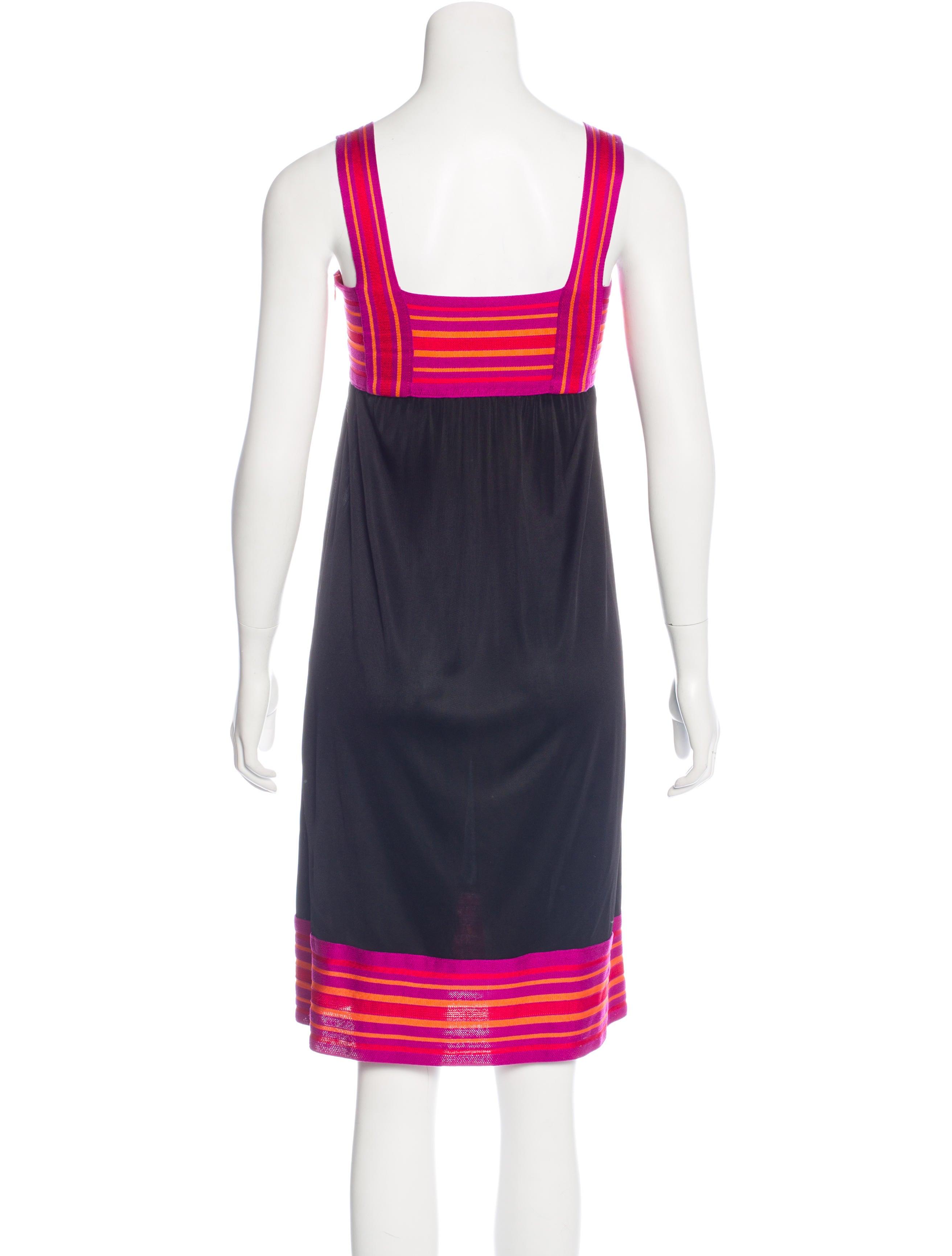 m missoni knit midi dress clothing wm439942 the realreal. Black Bedroom Furniture Sets. Home Design Ideas