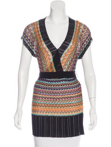 M Missoni Sleeveless Knit Top w/ Tags None
