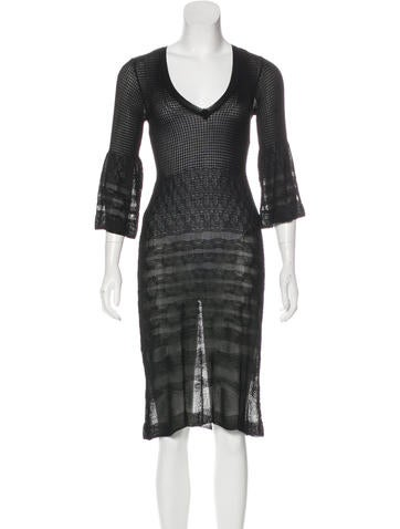 M Missoni Knit A-Line Dress None