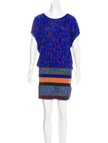 M Missoni Knit Mini Dress None