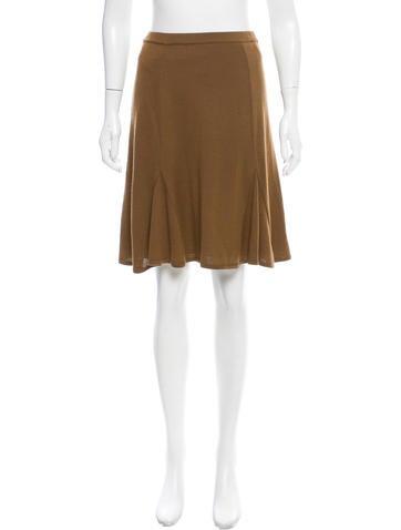 M Missoni Knit Knee-Length Skirt None