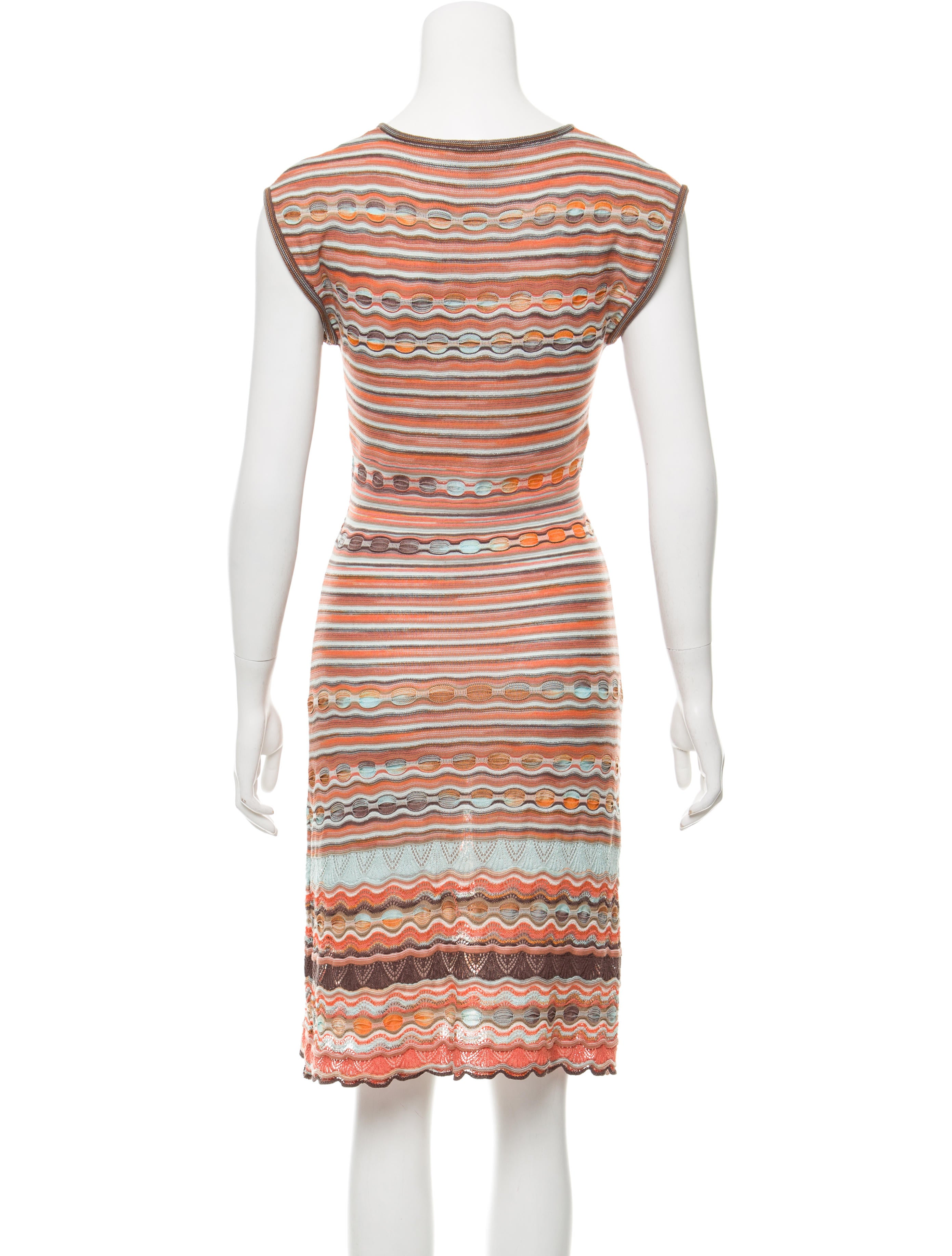 M Missoni Striped Knit Dress - Clothing - WM440458 | The