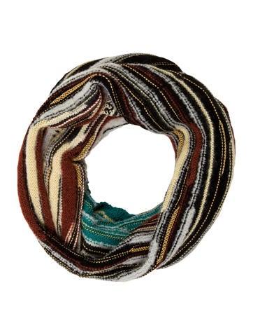 M Missoni Striped Wool Snood None