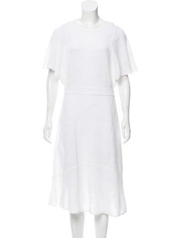 M Missoni Intarsia Knit Midi Dress w/ Tags None