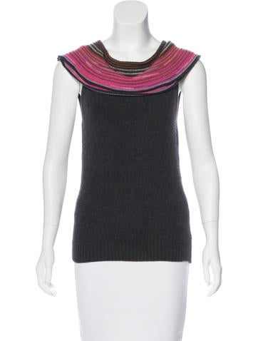 M Missoni Wool Knit Top None